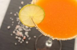 Mango Margarita cocktail recipe by The Petite cook