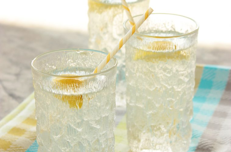 Summer Vodka Spritzer easy drink cocktail recipe low cal