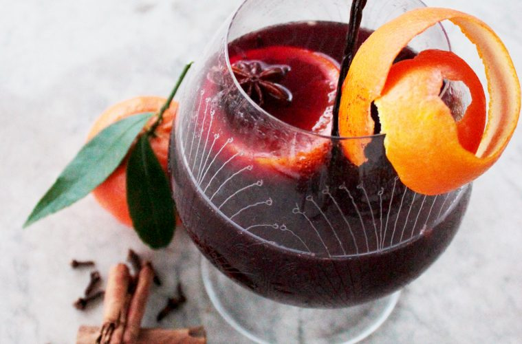 Easy and quick mulled wine recipe