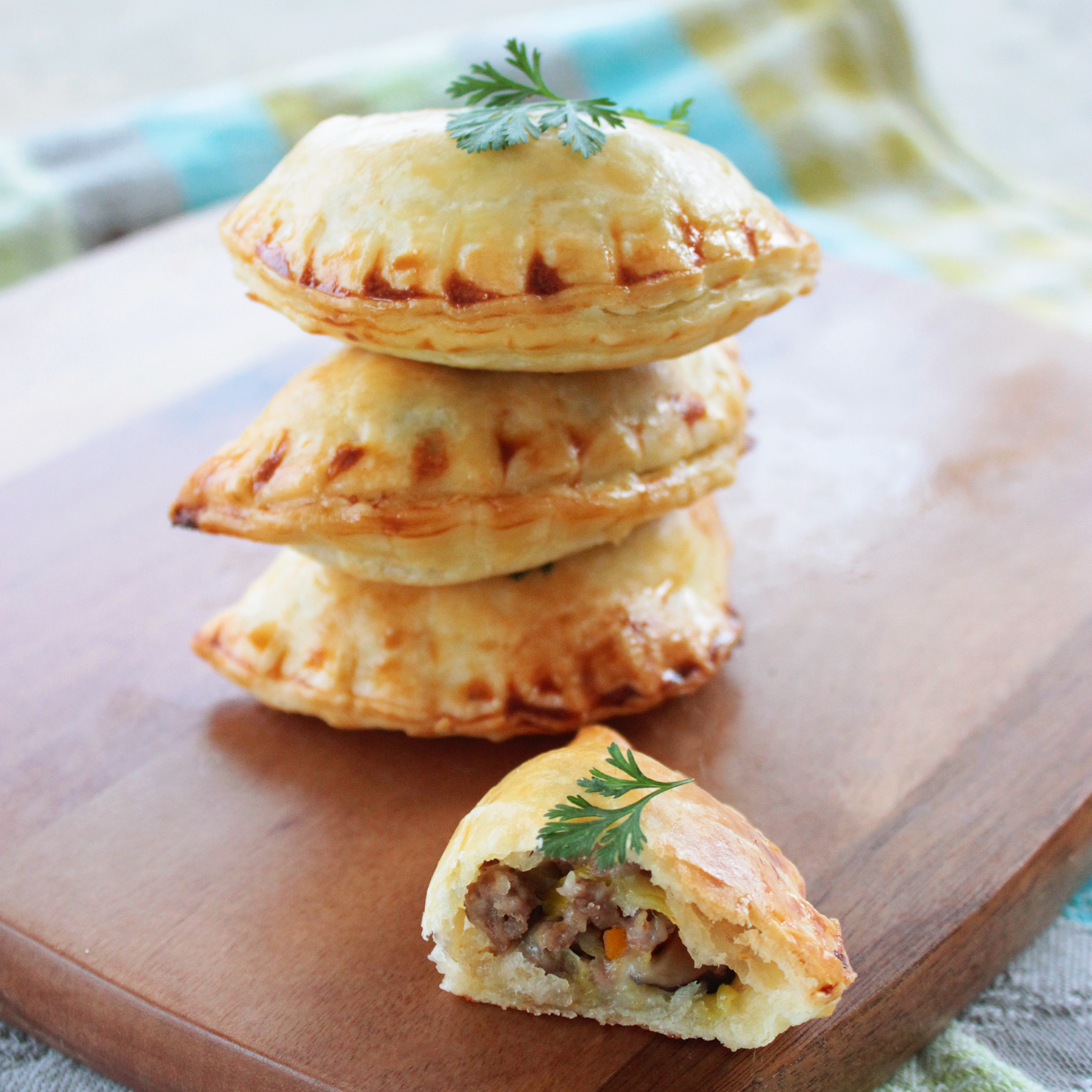 celine bags online shopping - Empanadas with Lamb and Mushroom Recipe | TasteSpotting