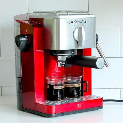 6. Bella Espresso Machine, Argos