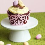 easter doouble chocolate cupcakes - recipe by the petite cook