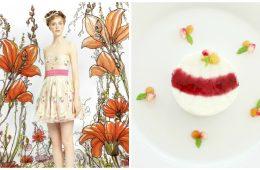 Spring Pannacotta - A Fashion Dessert thepetitecook.com