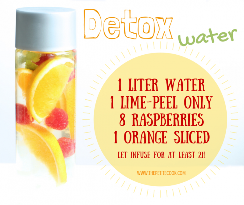This orange & raspberry detox water will help you boost your metabolism, feel energized and flush out all those nasty toxins from your body!