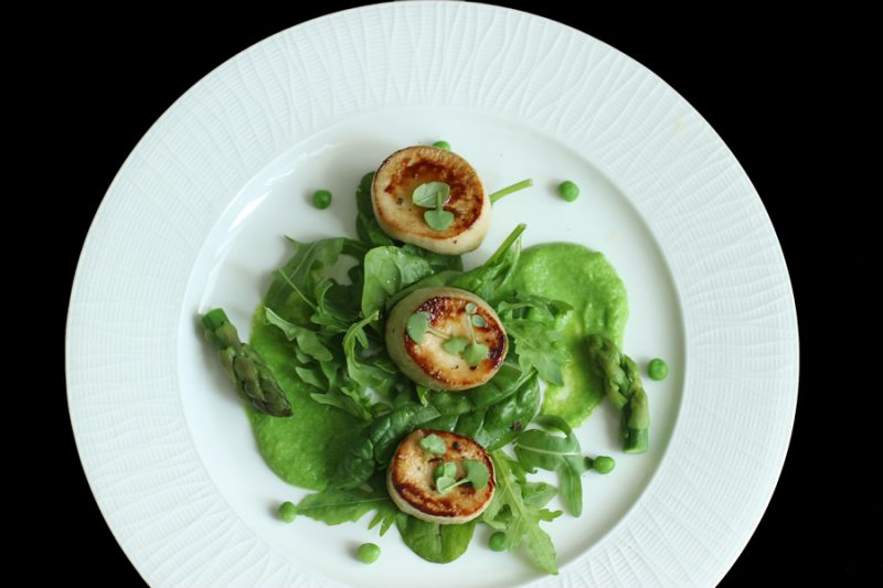scallops-oyster-mushroom