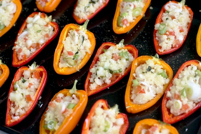 Cous cous stuffed mini peppers the petite cook forumfinder Gallery