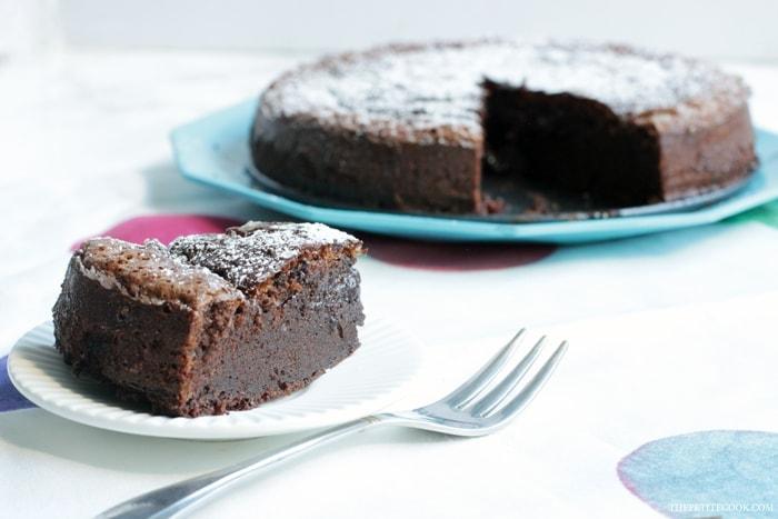 2 Ingredient Nutella Cake The Petite Cook