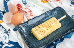 A basic 4-ingredient version of the traditional Japanese omelette - This easy Tamagoyaki makes a great protein-packed snack on the go in just 15 min. Recipe from thepetitecook.com