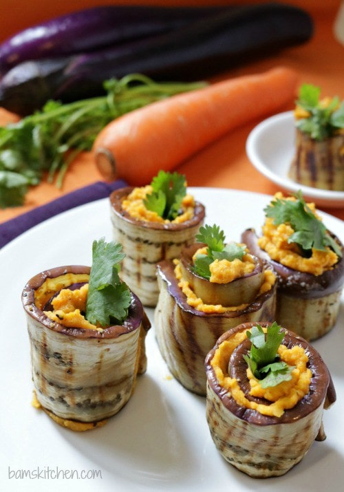 Meaty, hearty and light, there's everything to love about aubergine - Get inspired with these 30 Easy Vegetarian Eggplant Recipes perfect for fall season. From thepetitecook.com