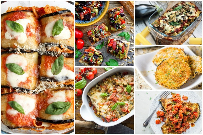 30 eggplant recipes