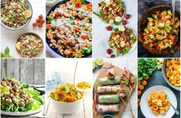 summer meal recipes round up