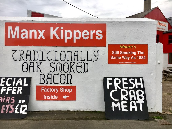 Moore's Kipper factory entrance