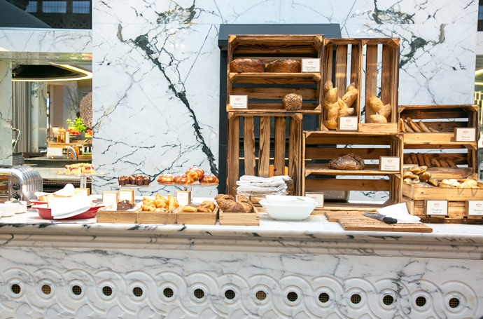 buffet pastry breakfast at park hyatt vienna