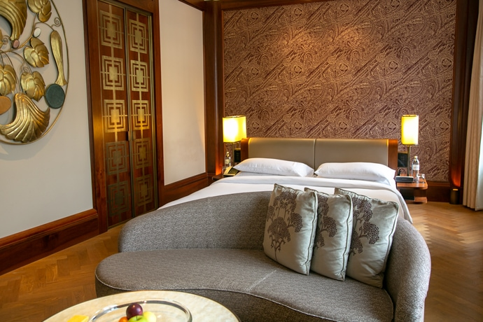 Park Hyatt Vienna deluxe room interiors