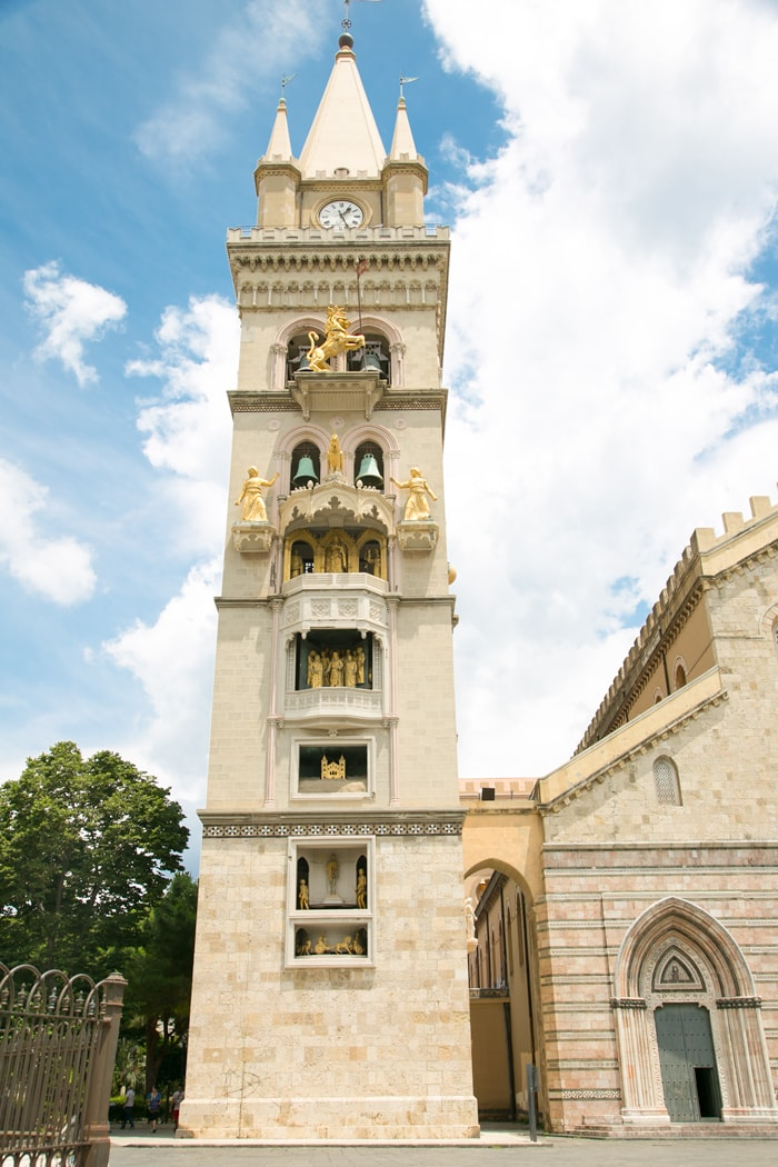 bell tower of messina