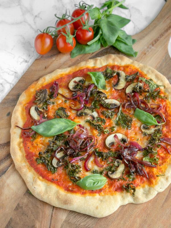 MELHOR massa de pizza caseira italiana 2
