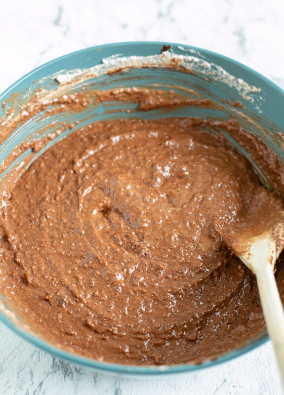 recipe step 5: all the ingredients are mixed and you have a smooth batter