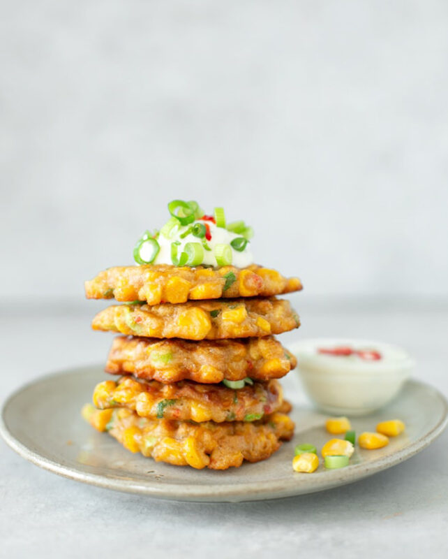 easy sweeetcorn fritters