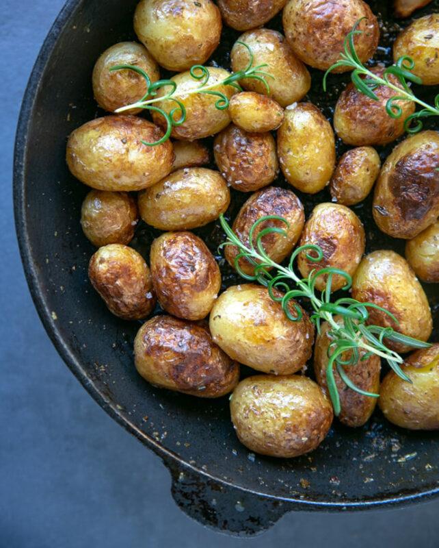 skillet roasted potatoes