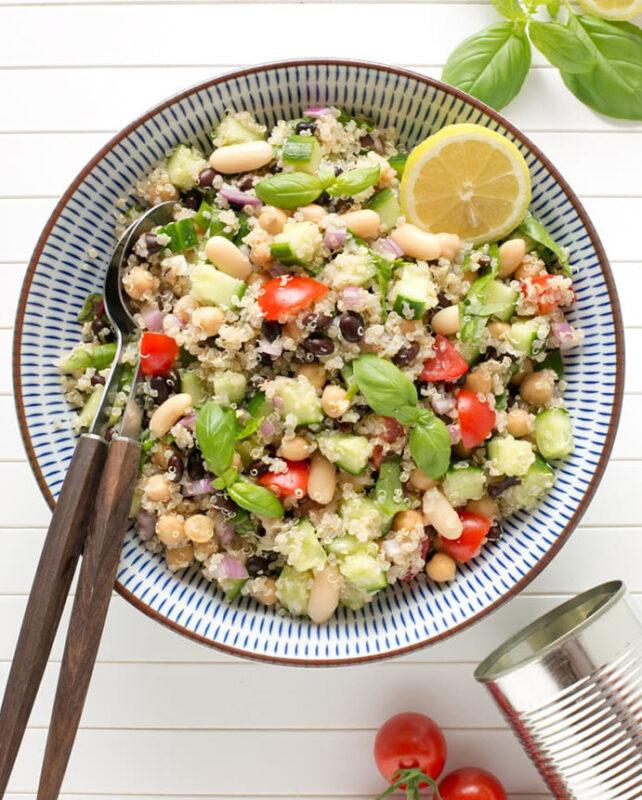 quinoa bean salad