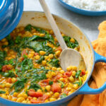 spinach and chickpea curry recipe