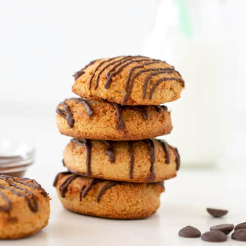 vegan cookies tower