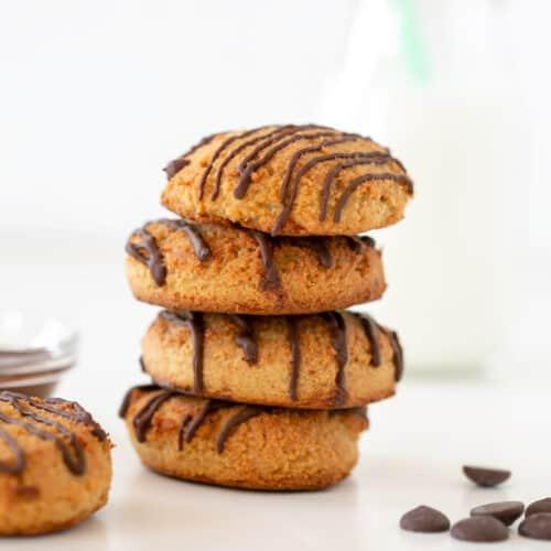 vegan cookies tower