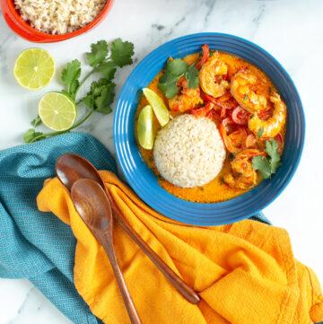 thai shrimp curry recipe.