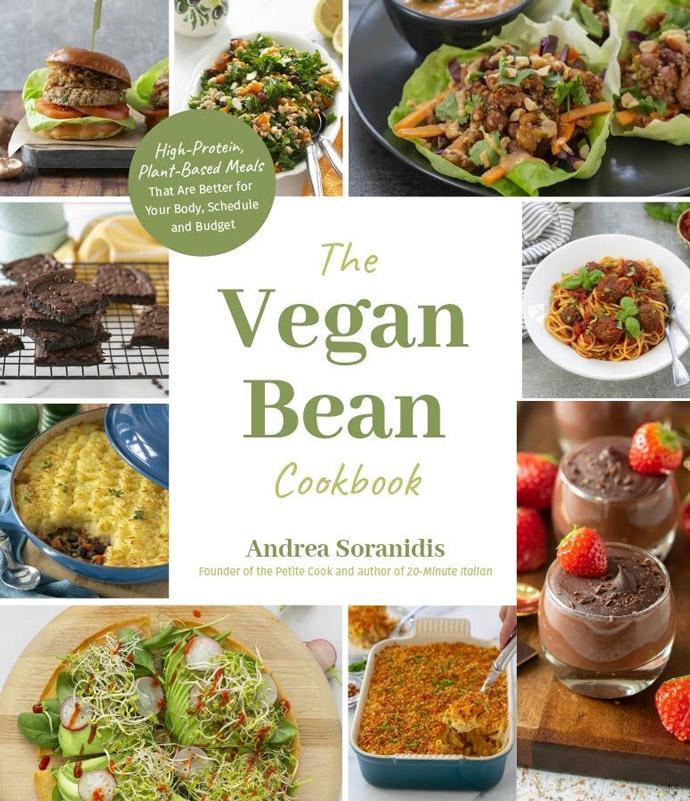 the vegan bean cookbook book cover.
