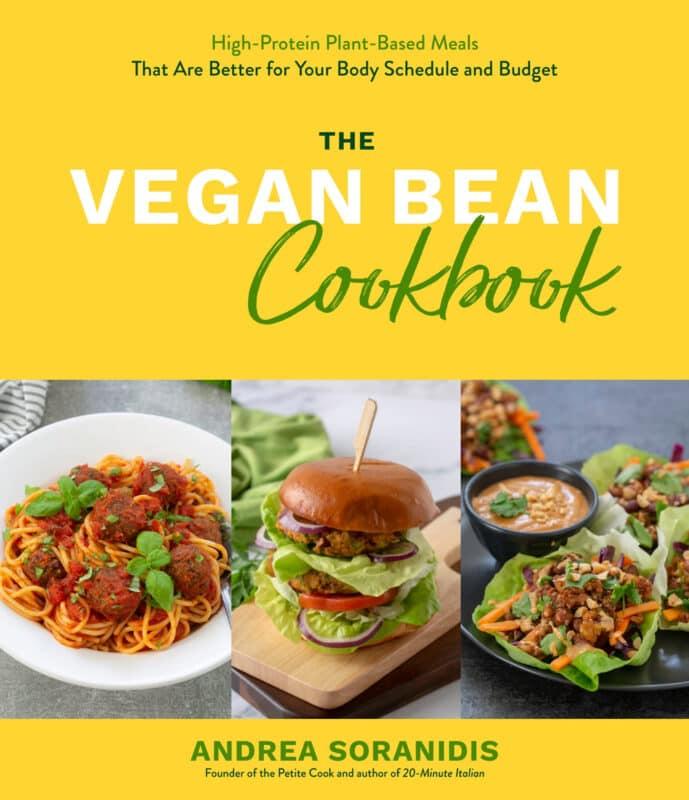 the vegan bean cookbook cover.