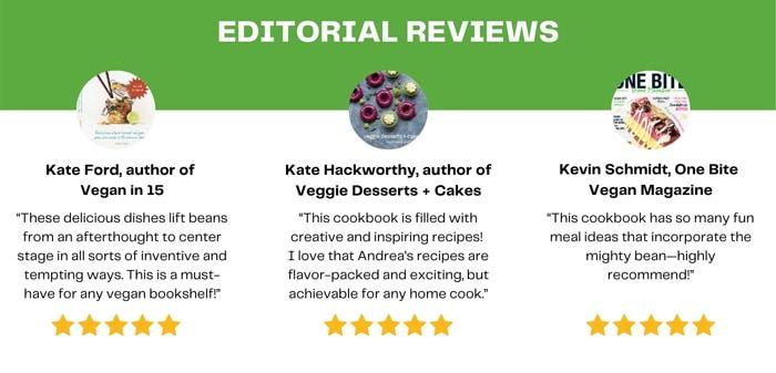 the vegan bean book editorial reviews.