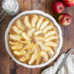 torta di mele, italian apple cake.